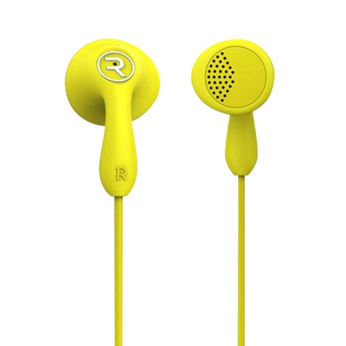 Remax RM-301 Candy Yellow: Wired Earbuds Headset για Κλήσεις & Μουσική (Android / Windows / iOS)