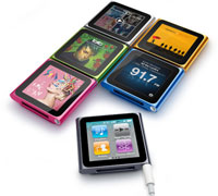 Soultronic MP42 Κόκκινο Fashion 6th Gen Multimedia Player (Music, Video, Photo, Record, Ebook, Radio)