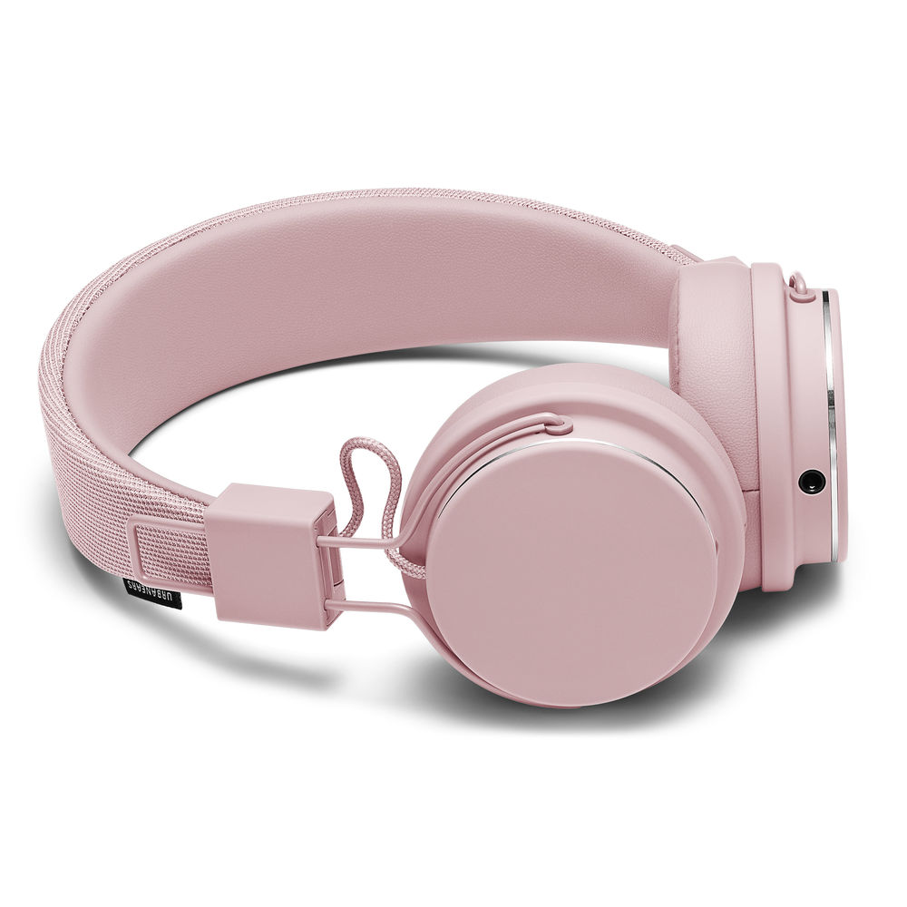 Urbanears Plattan 2 Powder Pink | The Perfect Classic Headphone | ZoundPlug + 3D Hinge + Mic/Remote