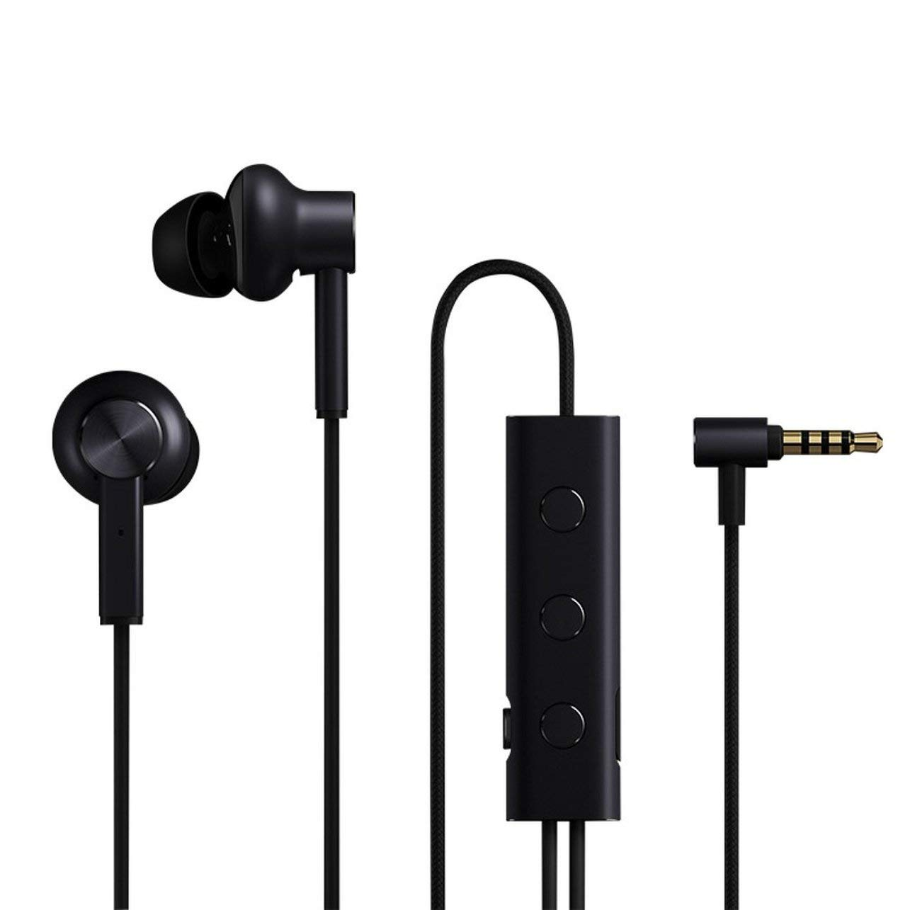 Xiaomi Mi Noise Cancelling Earphones 3.5mm Version Black (Με σύστημα μείωσης θορύβου)