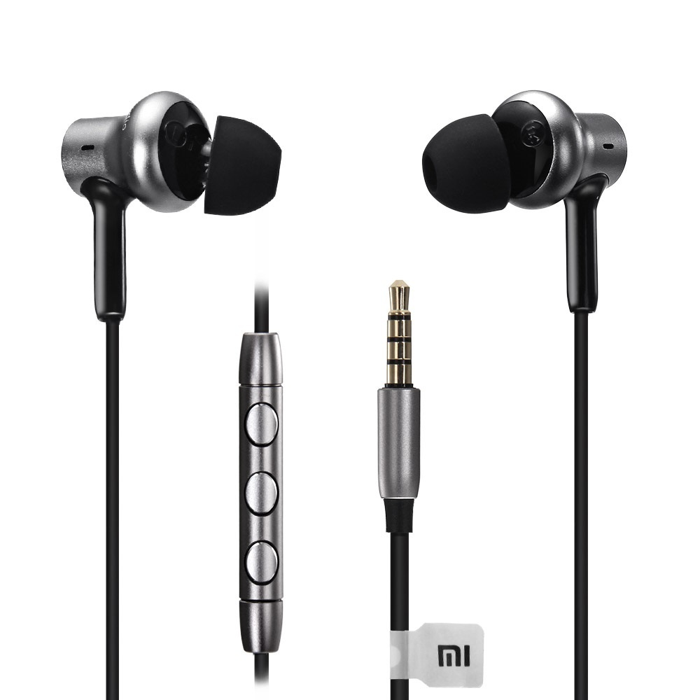 Xiaomi Mi In-Ear Headphones Pro HD Silver (Με διπλό υβριδικό driver)