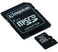Kingston microSDHC 4GB Class 10 SDC10/4GB