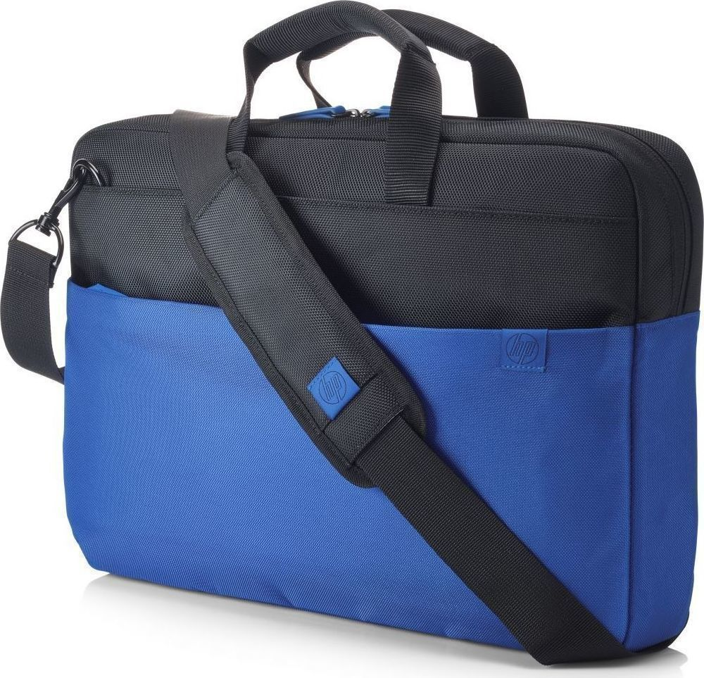 "HP Duotone Blue Notebook Briefcase 14.0''-15.6"" with 6 Pockets (Y4T19AA)"
