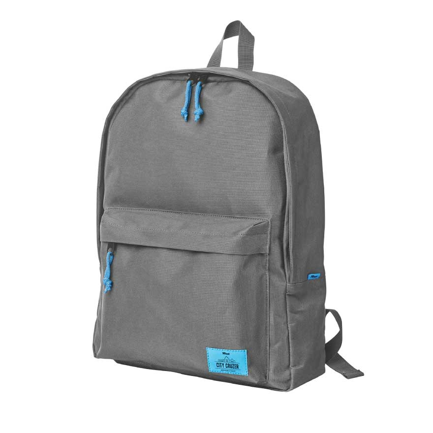 "Trust 20678 City Cruzer Notebook Backpack 15""-16"" (Weatherproof + Rugged Material + Padded Backside)"