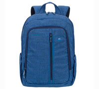 "Rivacase 7560 Blue Laptop Canvas Backpack (για Laptop έως και 15.6"" + Tablet έως και 10.1"")"