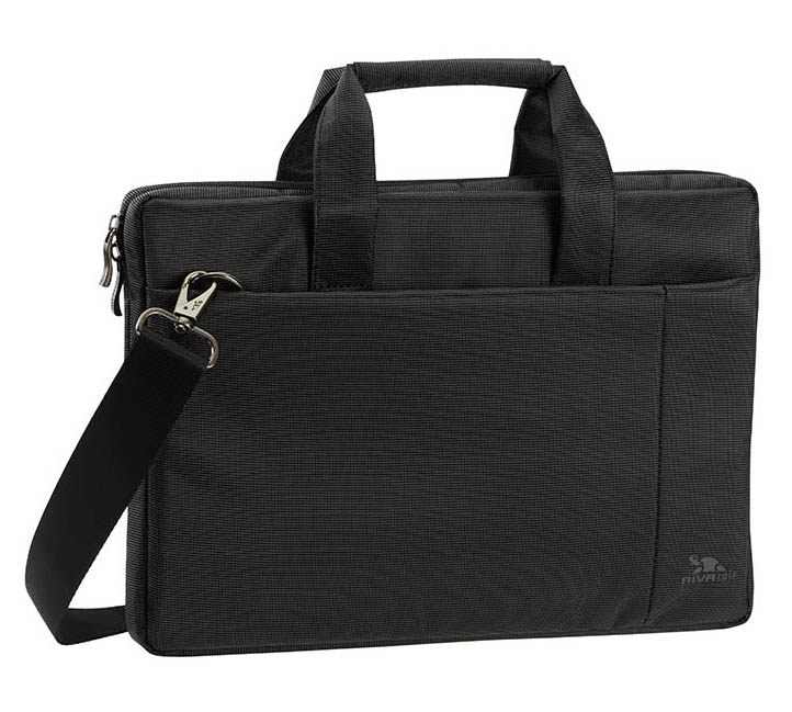 "Rivacase 8221 Black TopLoad Notebook Bag 12"" έως και 13.3"""