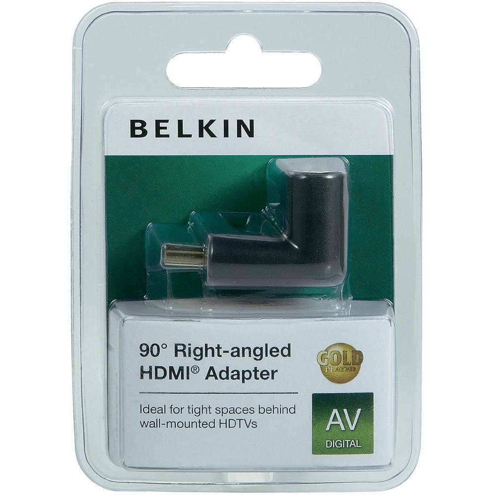 Belkin F3Y040bf 90° Right-angled HDMI Adapter