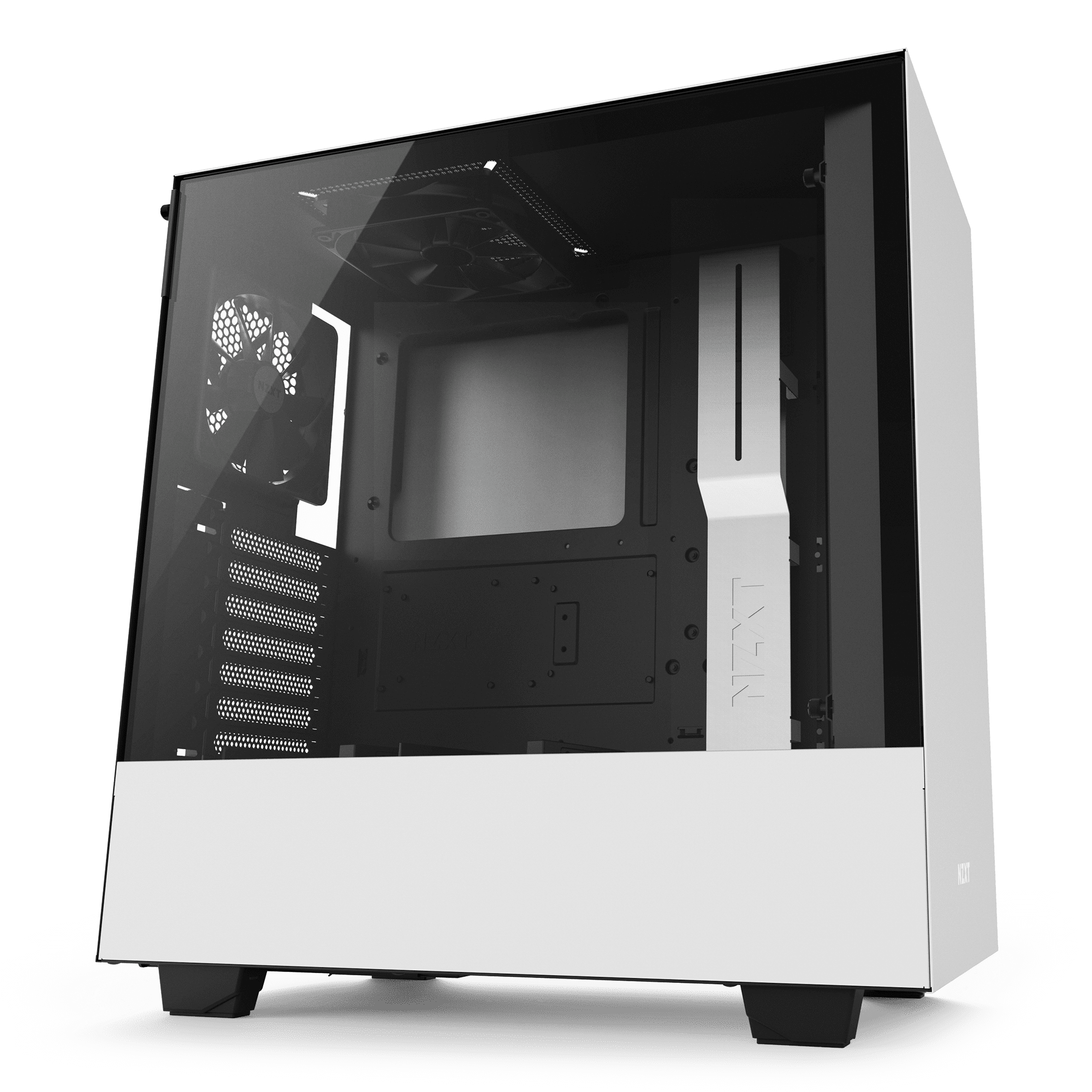 NZXT H500 Matte White – Tempered Glass (5060301694068)