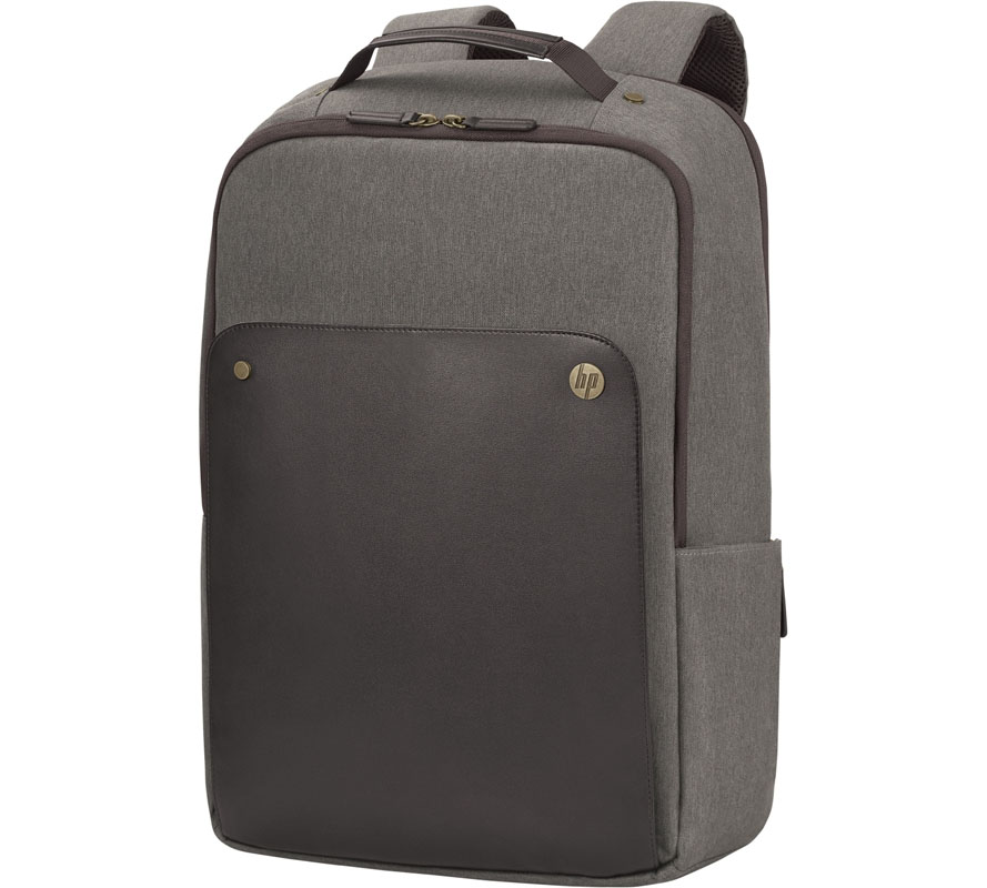 "HP Executive with Leather Notebook Backpack 14.0""-15.6"" + Tablet Case + RFID & HP Tracking Device Pocket P6N22AA"