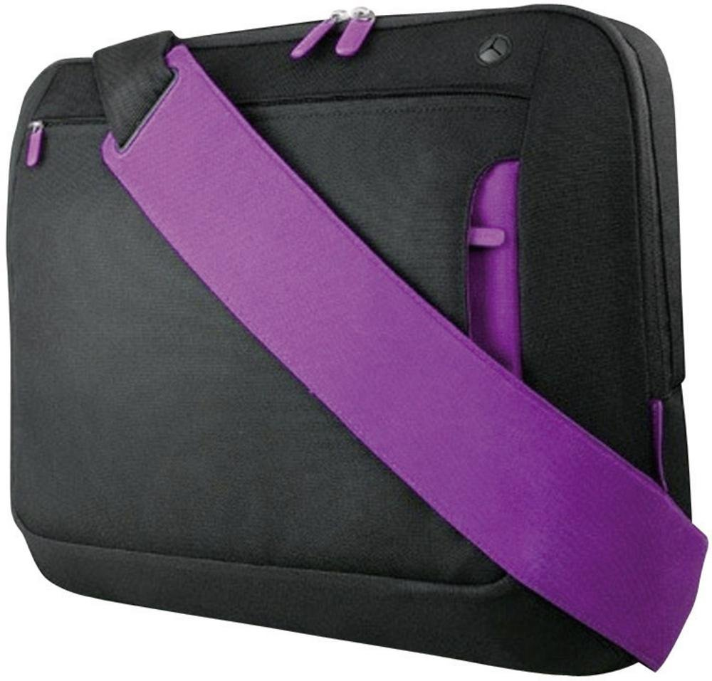"Belkin Messenger Bag Black / Violet 14""-15.6"" F8N244ea088"