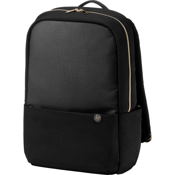 "HP Accent Black/Gold Notebook Backpack 14.0""-15.6"" + Tablet Case 4QF96AA"