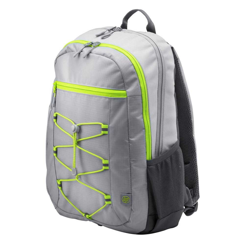 "HP Active Notebook 14.0""-15.6"" & Tablet Backpack (Grey/Neon Yellow) 1LU23AA"