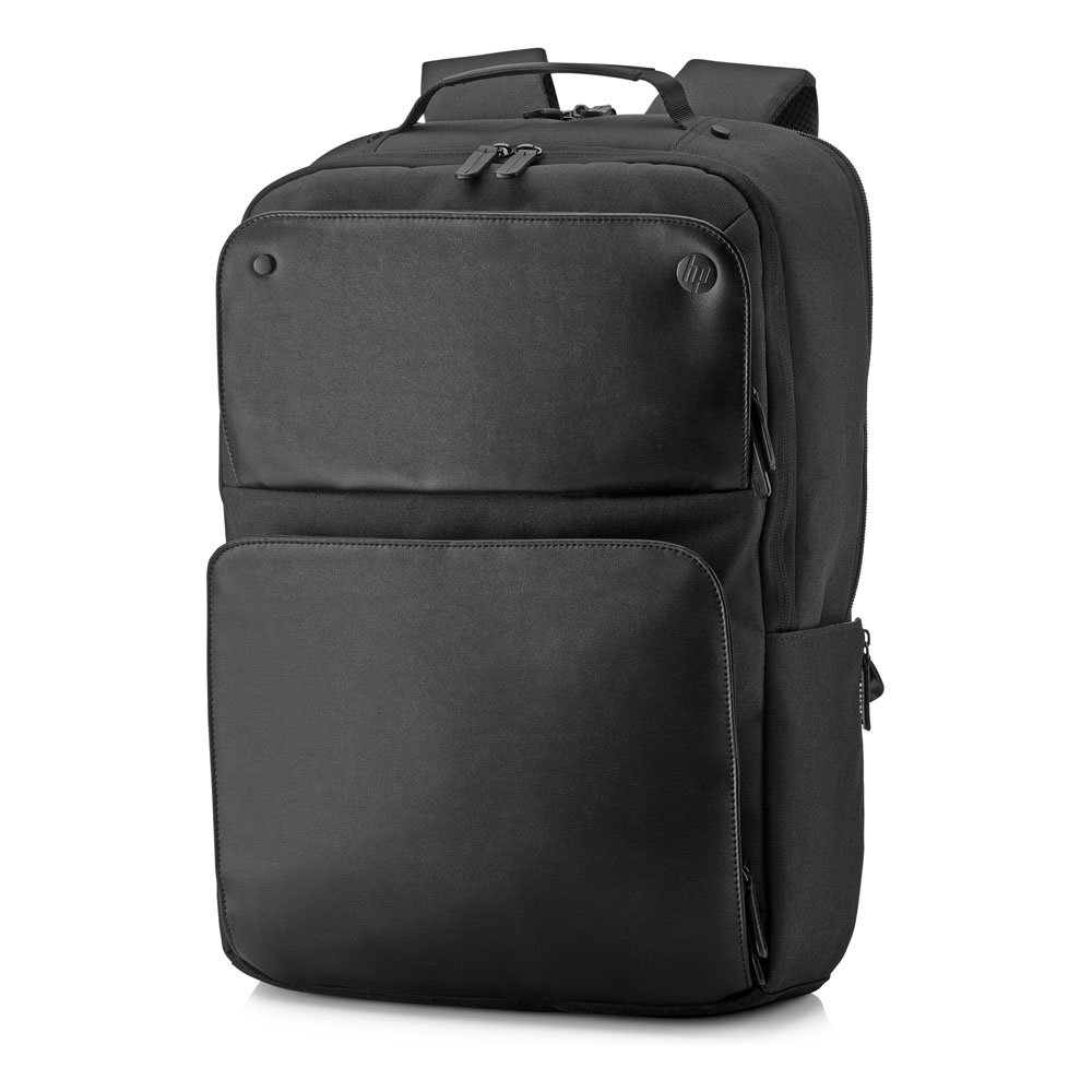 "HP Exec with Leather Notebook Backpack 16.0""-17.3"" + Tablet Case + RFID & HP Tracking Device Pocket 1KM17AA"