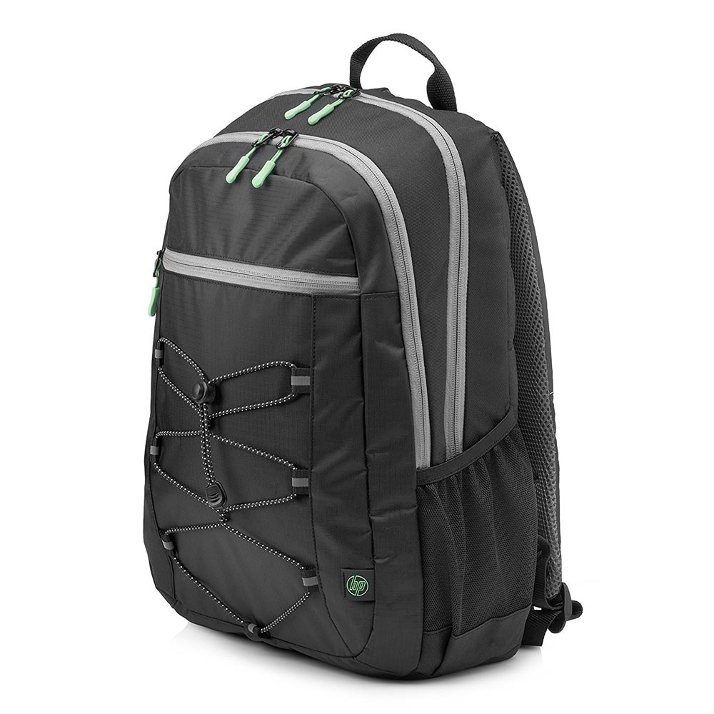 "HP Active Notebook 14.0""-15.6"" & Tablet Backpack (Black/Mint Green) 1LU22AA"