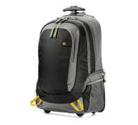 "HP Rolling Notebook Backpack 14.0""-15.6"" J6X32AA (2-σε-1: Σακίδιο Πλάτης + Τρόλεϋ)"