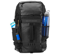 "HP Odyssey Black Notebook Backpack 14.0""-15.6"" + Tablet Case L8J88AA"