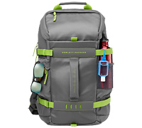 "HP Odyssey Gray Notebook Backpack 14.0""-15.6"" + Tablet Case L8J89AA"