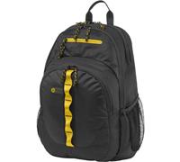 "HP Sport Black/Yellow Notebook Backpack 14.0""-15.6"" + Tablet Case F3W17AA"