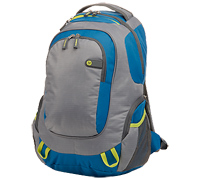 "HP Outdoor Sport Green/Blue Notebook Backpack 14.0""-15.6"" F4F29AA"