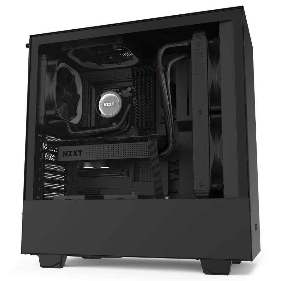 NZXT H510 Black - Tempered Glass (5060301695058)