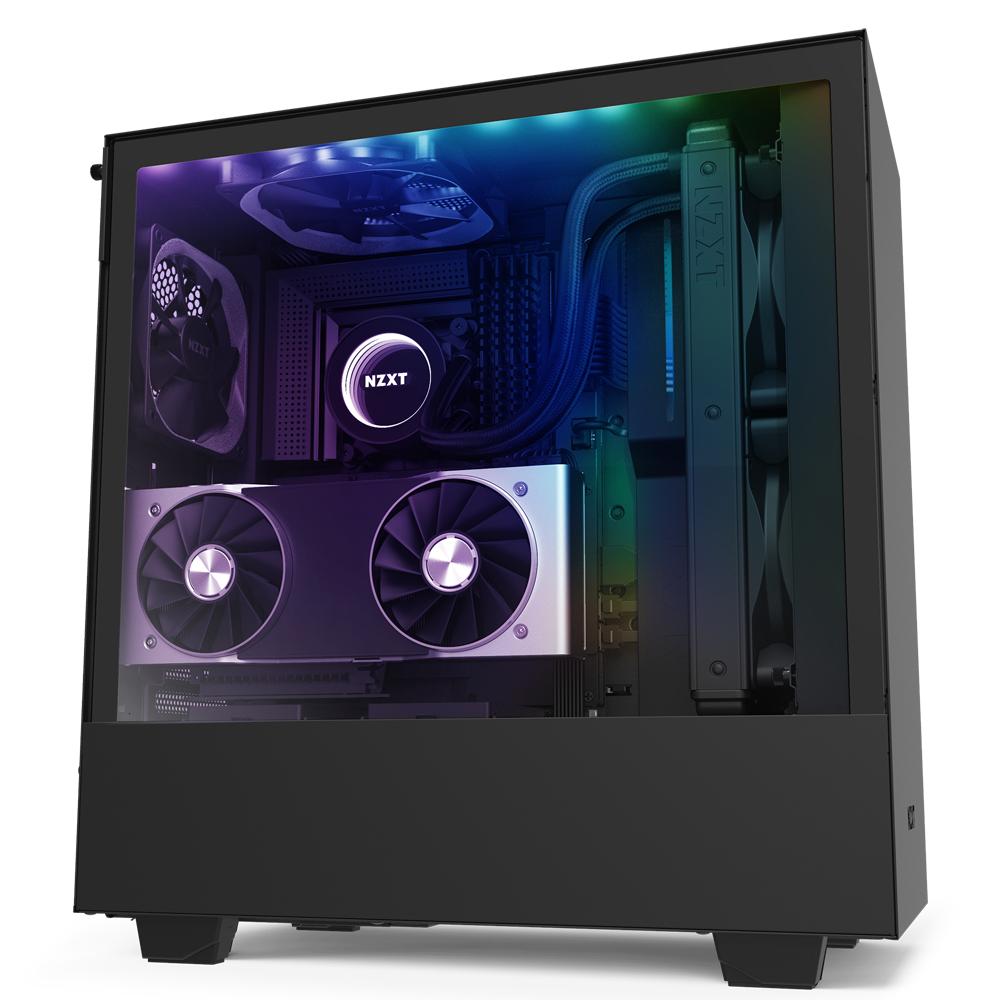 NZXT H510i Black | Tempered Glass | Smart 2nd Gen (5060301695027)
