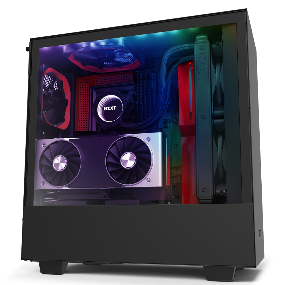 NZXT H510i Red | Tempered Glass | Smart 2nd Gen (5060301695034)