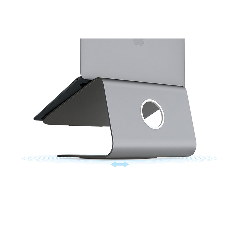 Rain Design mStand 360 Aluminium Notebook/Laptop Stand Space Gray