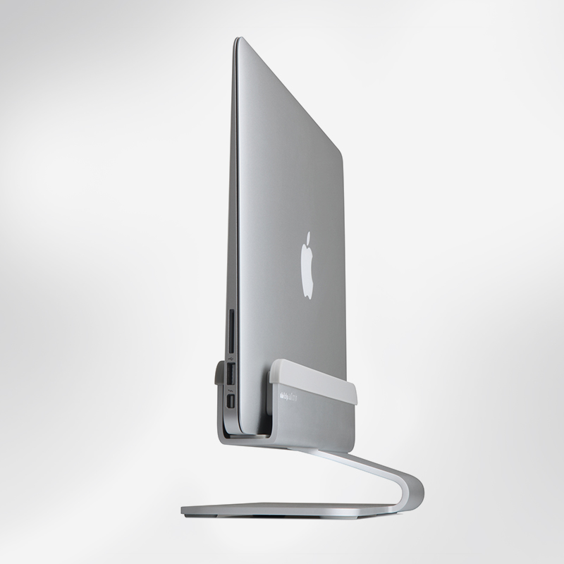 Rain Design mTower Vertical Laptop Stand Silver