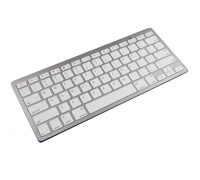 Soultronic BK3001 White Ultra Slim Bluetooth Keyboard For Laptop, Netbook, Tablet & Smartphone