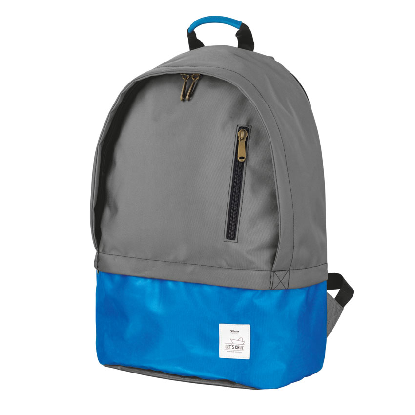 "Trust 20102 Let's Cruz Notebook Backpack 14.0""-16.0"" + Αδιάβροχη Τσέπη"