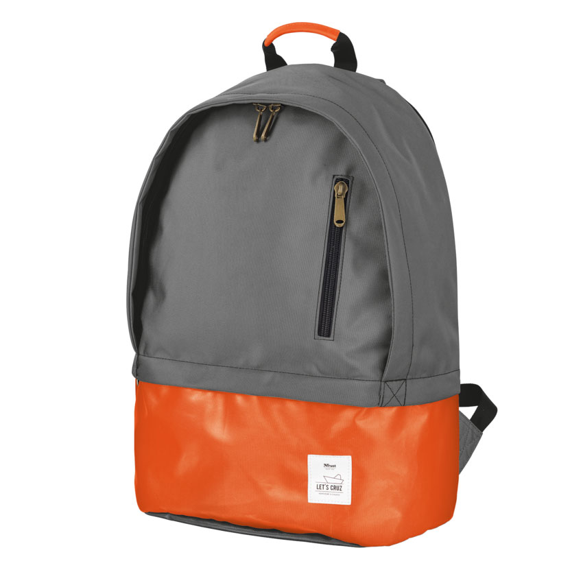 "Trust 20103 Let's Cruz Notebook Backpack 14.0""-16.0"" + Αδιάβροχη Τσέπη"