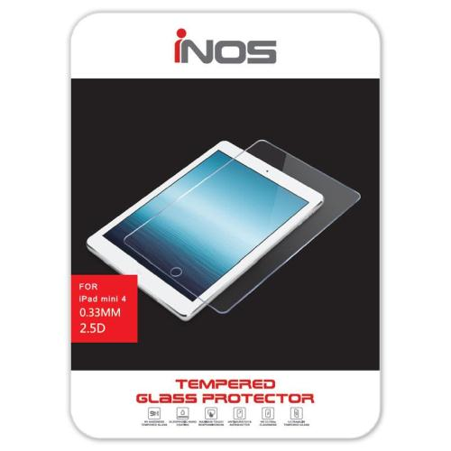 Tempered Glass inos 9H 0.33mm Apple iPad mini 4 (1 τεμ.) (5205598074227)