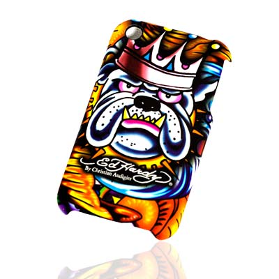 Θήκη Ed Hardy Apple iPhone 3GS King Dog (718122684380)