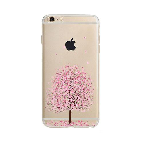 Θήκη TPU inos Apple iPhone 6/ iPhone 6S Art Theme Almond Tree (5205598096939)