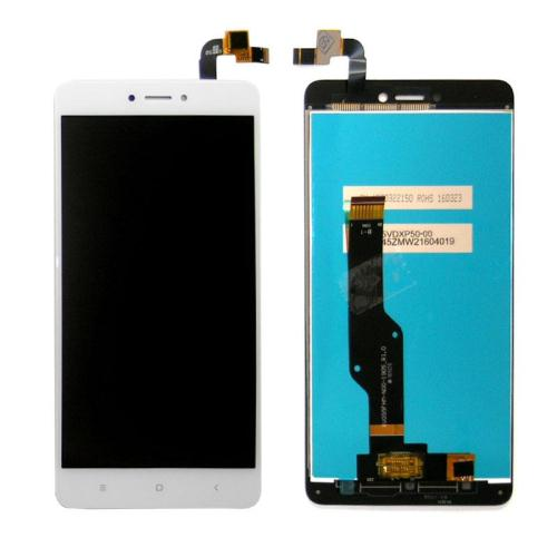 Γνήσια Οθόνη με Touch Screen Xiaomi Redmi Note 4 (Snapdragon)/ Note 4X Λευκό (0301320026)