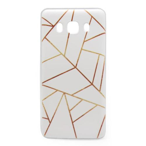 Θήκη TPU inos Samsung J510F Galaxy J5 (2016) Art Theme Triangles (5205598104665)