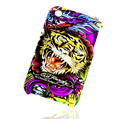 Θήκη Ed Hardy Apple iPhone 3GS Tiger (718122684083)