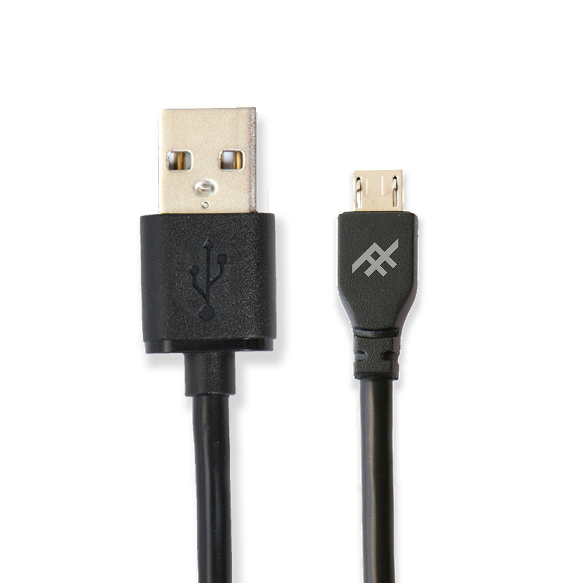 iFrogz UniqueSync Charge/Sync microUSB Cable 1m Black