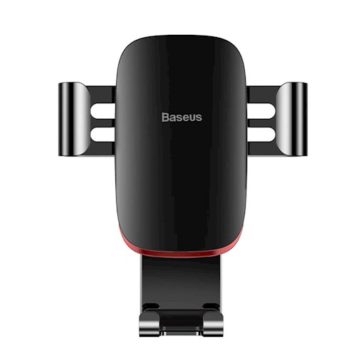Baseus Metal Age Gravity Car Mount Black | One-Hand Operation | Multi-Angle | Charging Hole