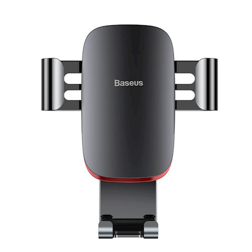 Baseus Metal Age Gravity Car Mount SUYL-D0G Grey | One-Hand Operation | Multi-Angle | Charging Hole