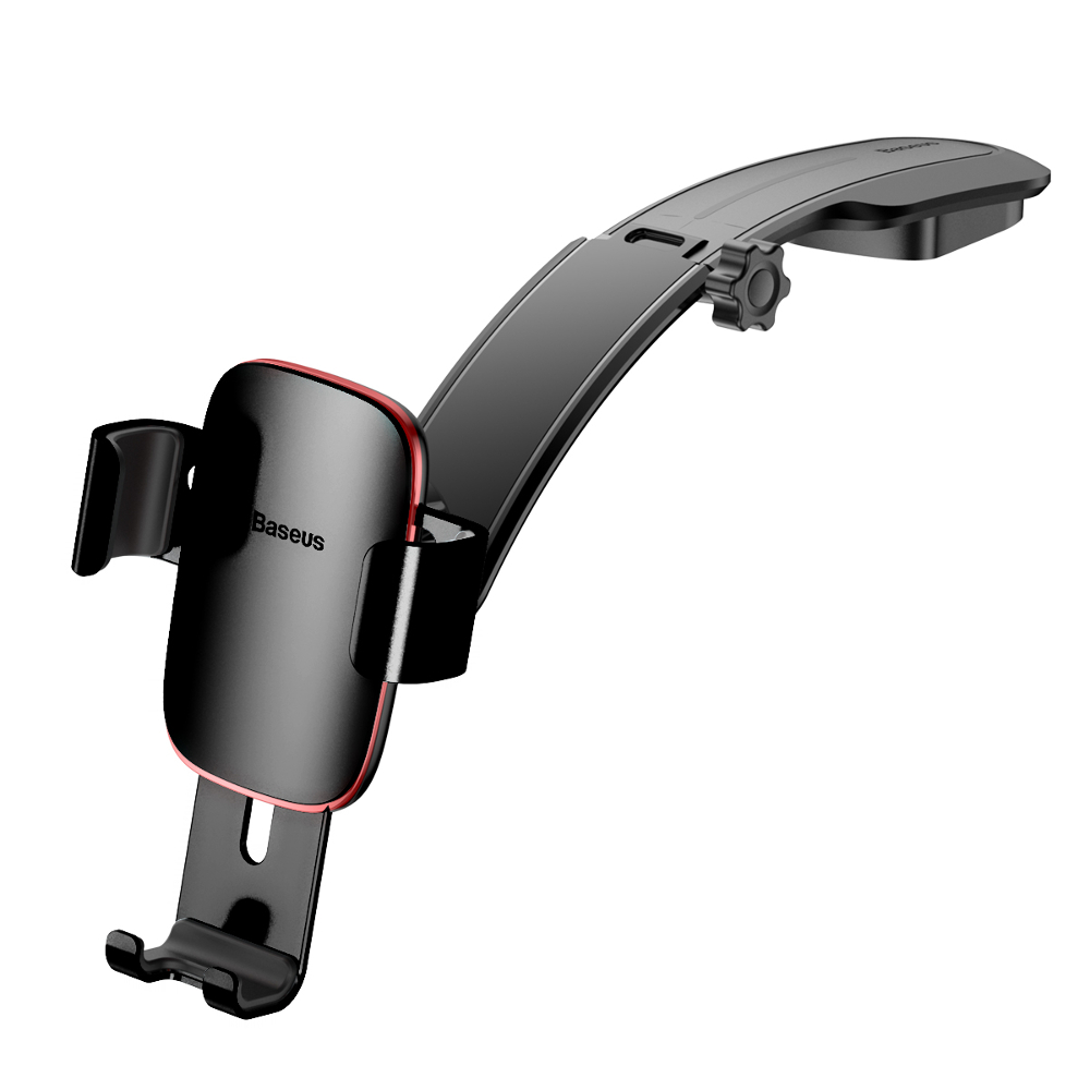 Baseus Metal Age Gravity Car Mount Dash Version SUYL-F01 Black | One-Hand Operation | Multi-Angle | Charging Hole