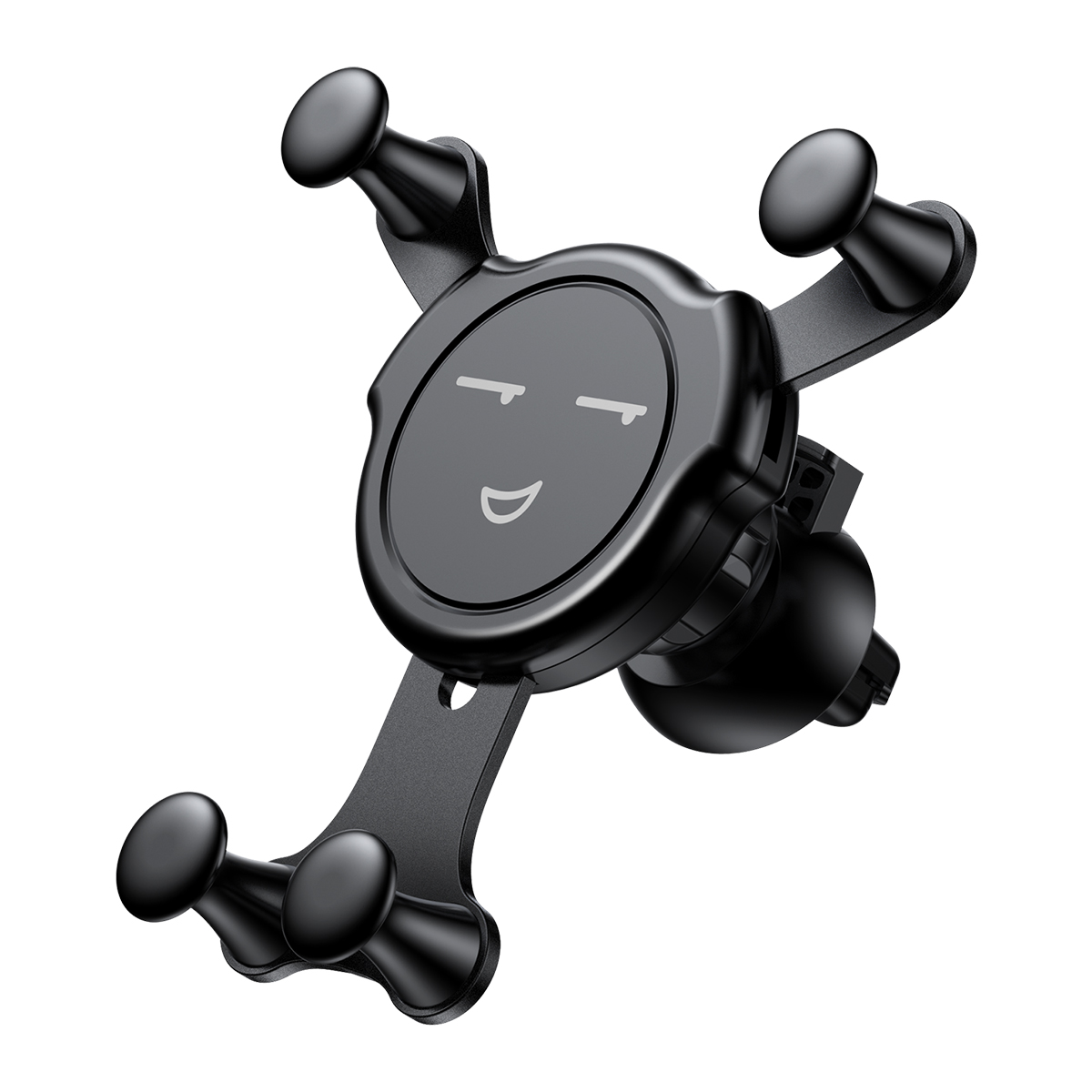 Baseus Emoticon Gravity Car Mount SUYL-EMKX | One-Hand Operation | Multi-Angle | Charging Hole | Give the Phone a Love Hug