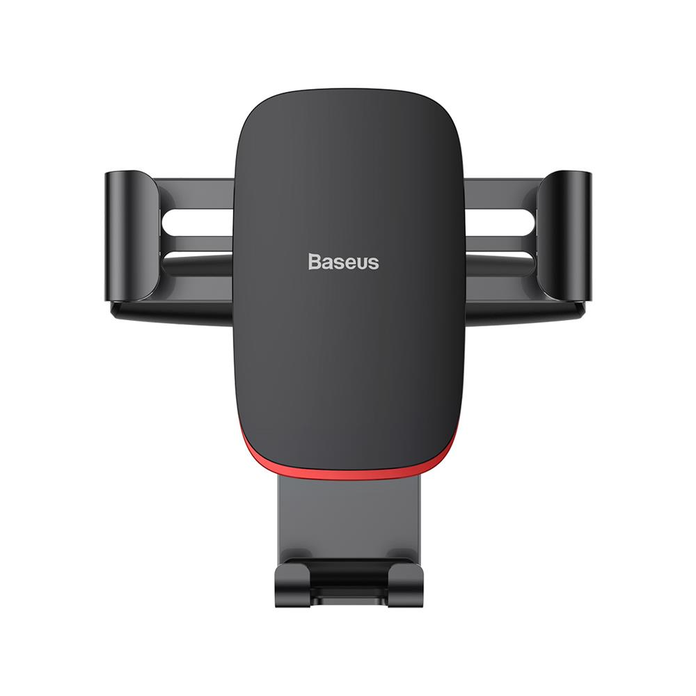 Baseus Metal Age Gravity Car Mount CD Version SUYL-J01 Black | One-Hand Operation | Multi-Angle | Charging Hole