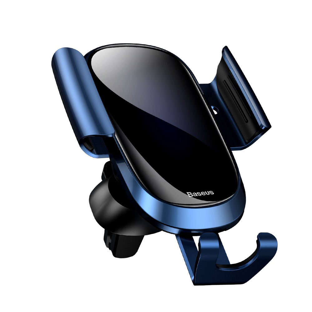 Baseus Future Gravity Car Mount  SUYL-WL03 | One-Hand Operation | Multi-Angle | Charging Hole | Tempered Glass Screen