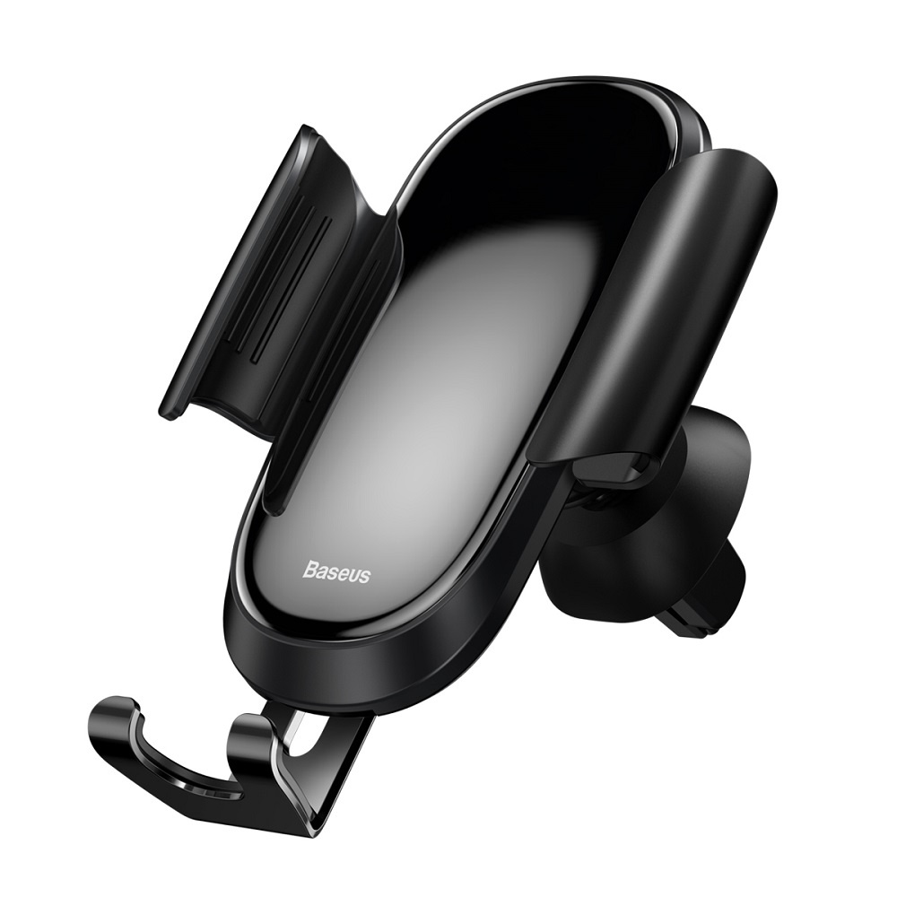 Baseus Future Gravity Car Mount  SUYL-WL01 | One-Hand Operation | Multi-Angle | Charging Hole | Tempered Glass Screen