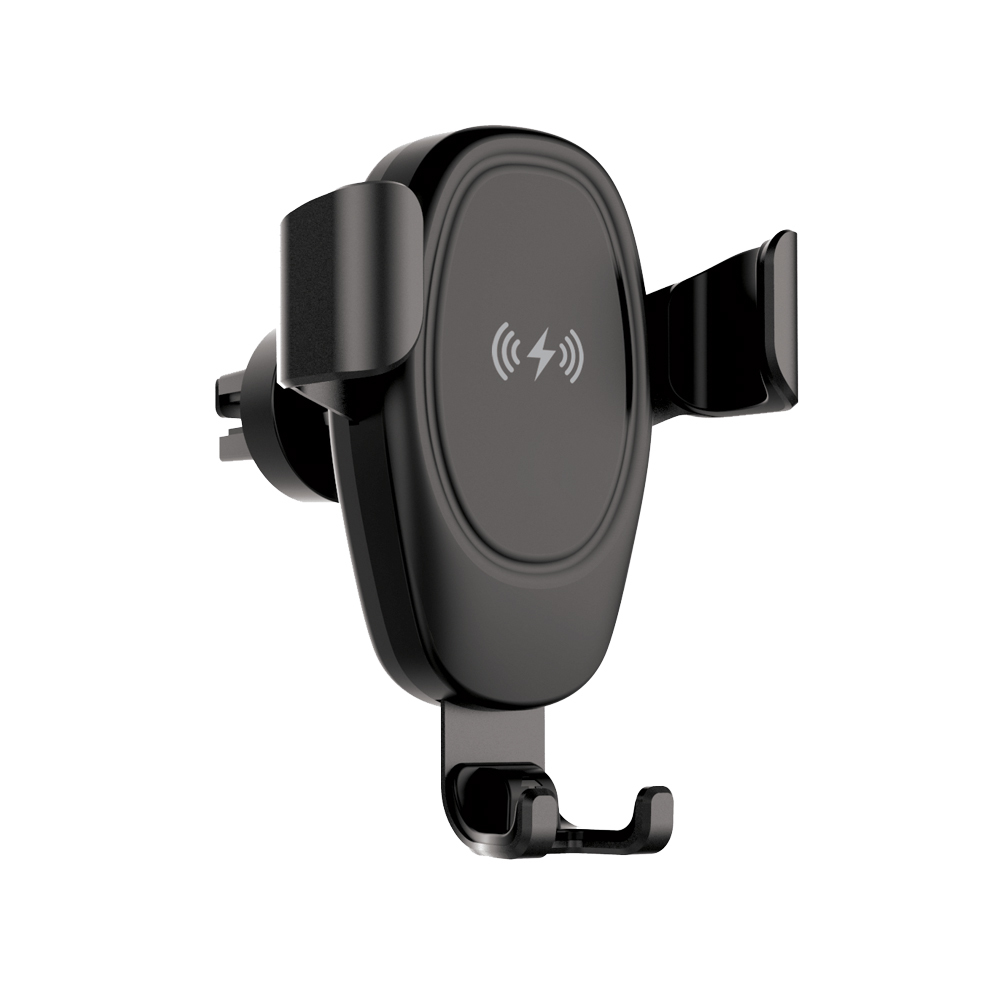 Setty IUS-01 Wireless Charger & Gravity Car Mount | One-Hand Operation | Ασύρματη Φόρτιση 10W | Vent + Dash