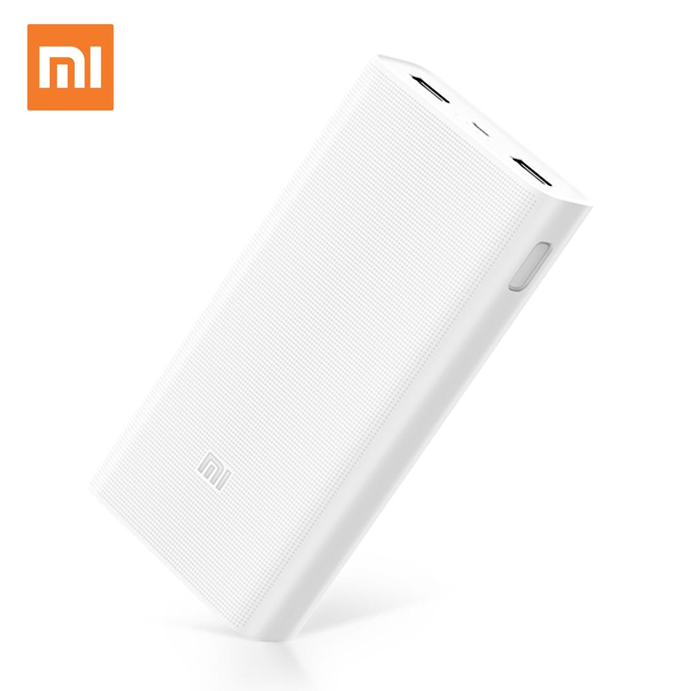 Xiaomi PLM06ZM Mi Power Bank 2C 20000mAh White με τεχν. Qualcomm Quick Charge 3.0: Φορητή Μπαταρία για Smartphones/Tablets