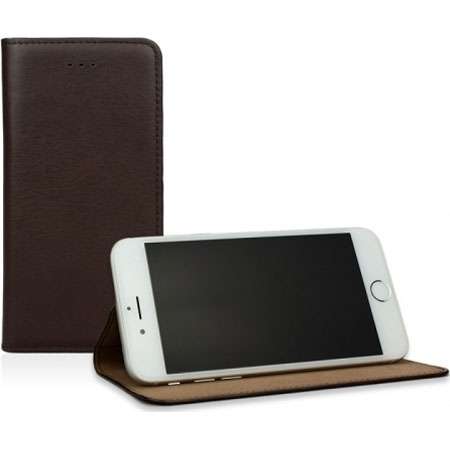 "Caseual Real Leather Slim & Stand Case για iPhone 6 / 6S (4.7"") Italian Mocca"