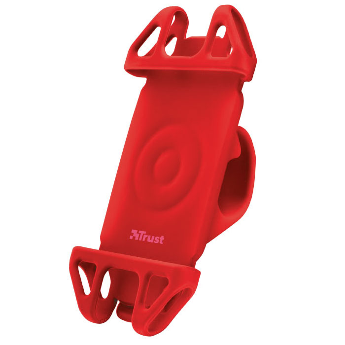 Trust Bari Red 22494 Flexible Universal Bike & Bicycle Smartphone Holder (Βάση τιμονιού για κινητά & smartphone)
