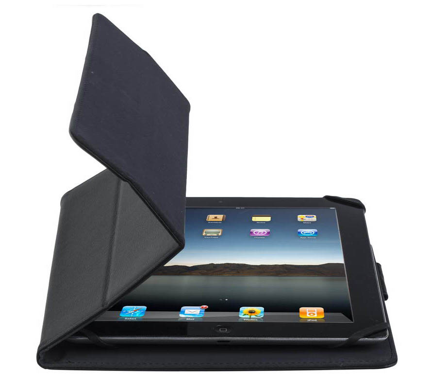 Rivacase 3117 Black Universal Tablet Case & Stand: Θήκη για Tablet έως και 10.1""